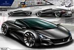 Maserati Merak Design Concept 2020