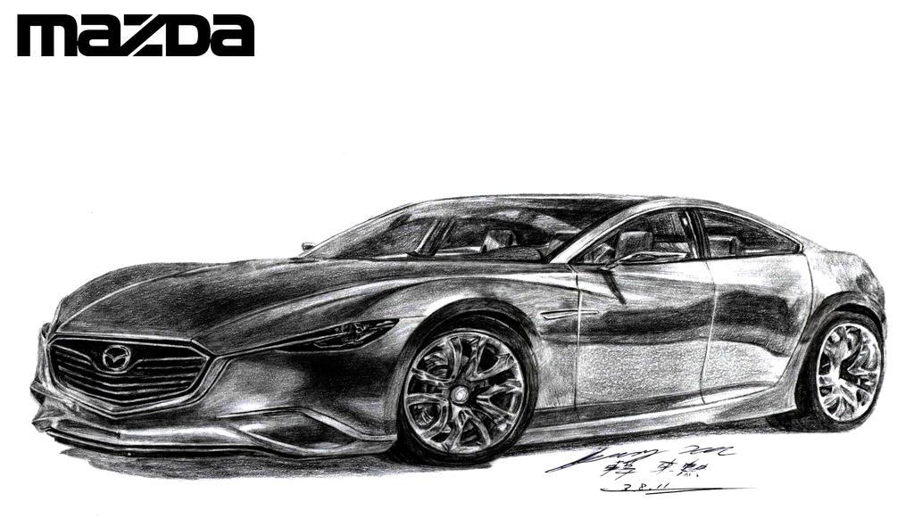 Mazda Shinari Concept by toyonda