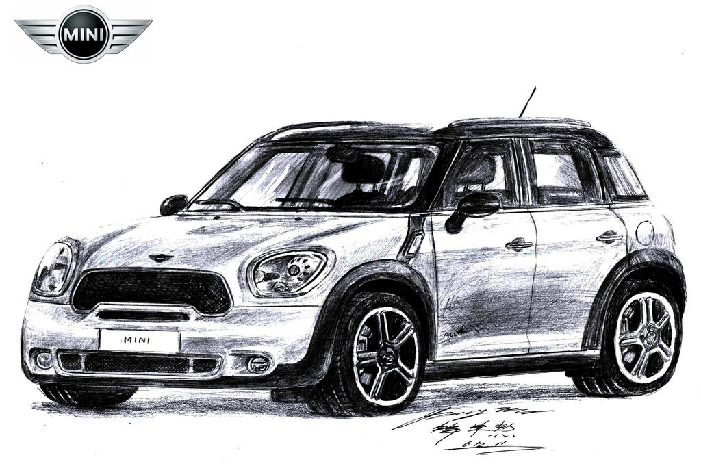 Top Gear's Mini Countryman All4 Sport RS by toyonda