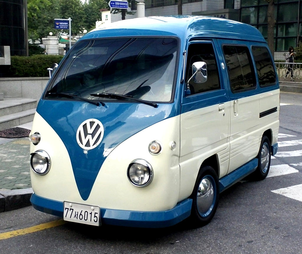Daewoo Damas Volkswagen Campervan Replica by toyonda