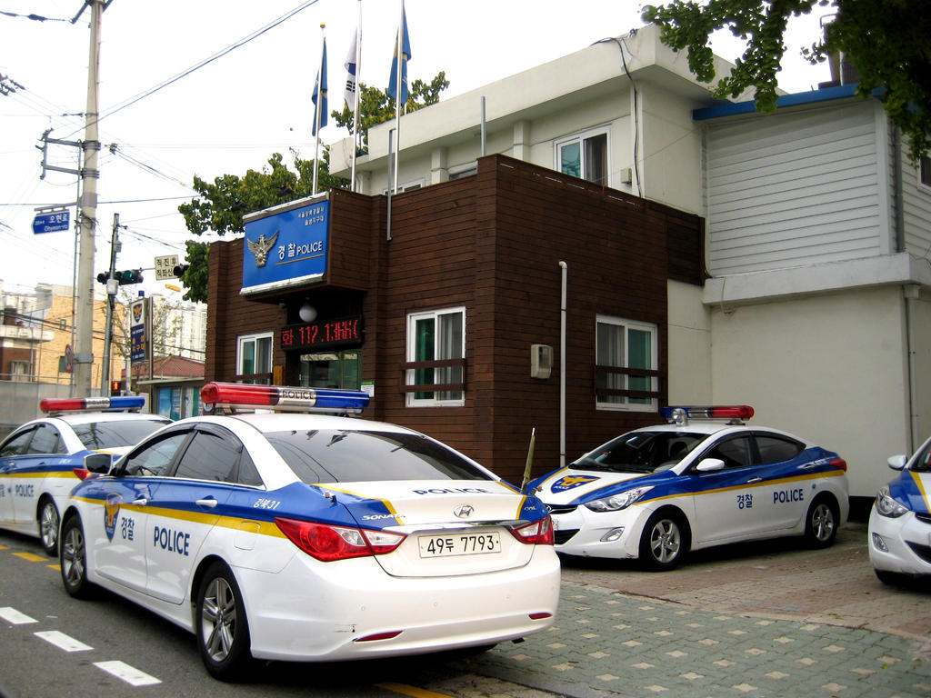 Hyundai Sonata Police Car >> Police Station in Seoul Korea by toyonda on DeviantArt