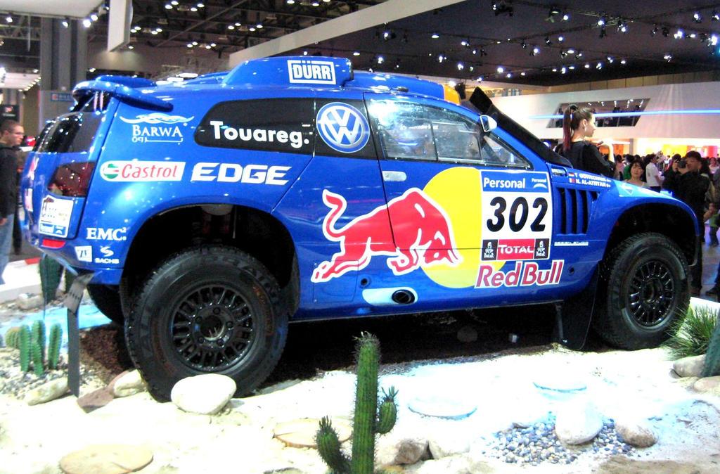 Touareg Rally Master Redbull by toyonda