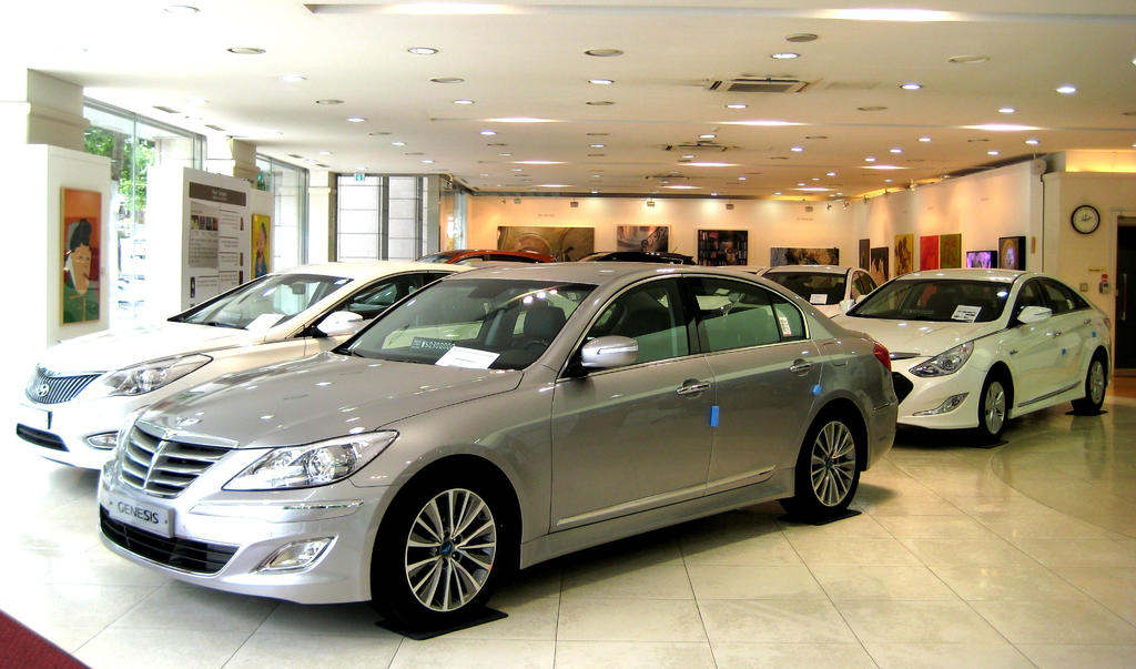 Hyundai Lineup Models Dealership by toyonda