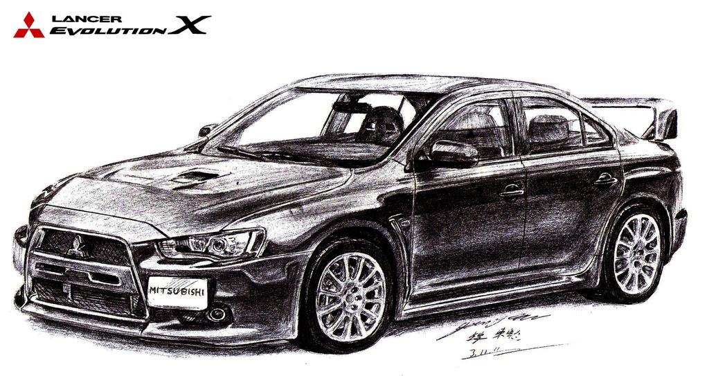 Jonathan's Mitsubishi Lancer Evo X Supersedan by toyonda ...