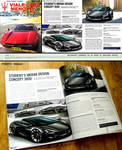 My Work Featured On Official Maserati Magazine