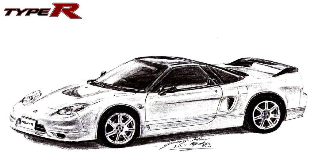 honda nsx type r supercar by toyonda on deviantart rh toyonda deviantart com 04 Civic Si Wire Harness Honda 4 Wheeler Wiring Harness