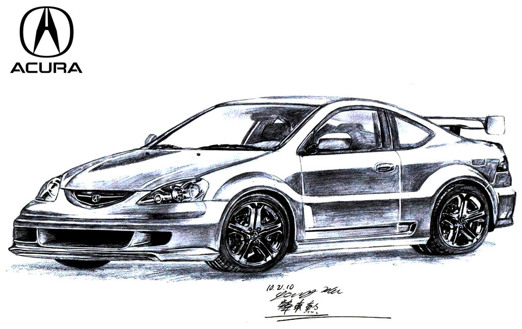 Acura Rsx Concept Type S By Toyonda On Deviantart