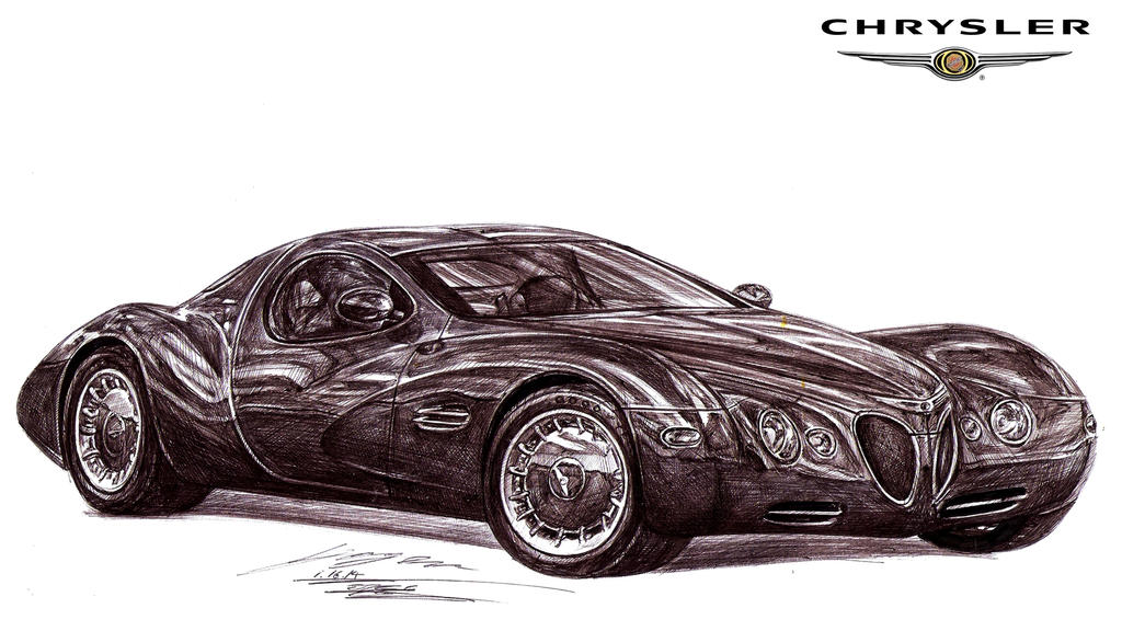 Chrysler's Answer to the Bentley Java Concept by toyonda on