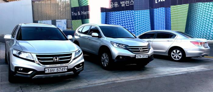 New Honda Passenger Vehicles