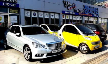 Four Mercedes Benz Models by toyonda