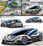 BMW ActiveCity 2025 Concept Design by toyonda