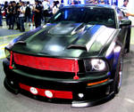 Black Mustang Coupe