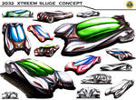 Ideation Sketches Lotus Sports Concept