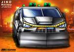 Jino Motors Rhino Riot Control Vehicle Concept
