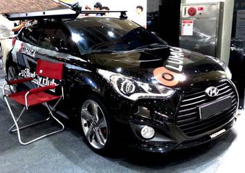 Black Veloster Turbo by toyonda