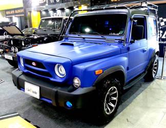 Custom Kia Retona Compact Offroader by toyonda