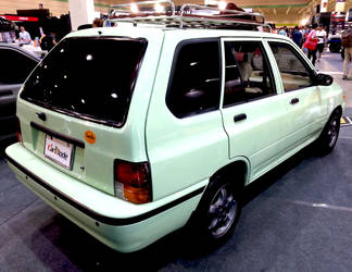 The Classic, Kia Pride Station Wagon by toyonda