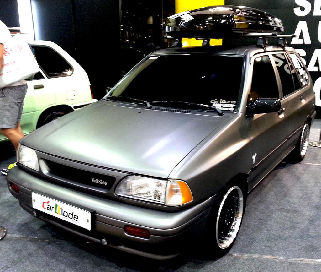 Titanium Grey Ford Festiva Wagon By Toyonda