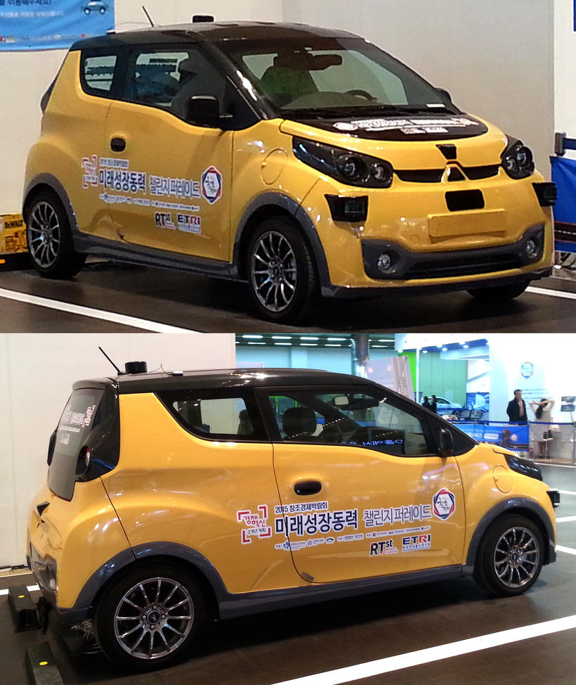 Compact Electric Hatchback from Korea by toyonda
