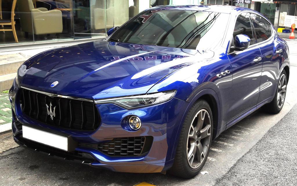 A Maserati SUV at last by toyonda
