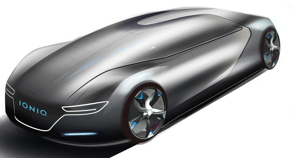 Ioniq 2032 Design Concept by toyonda