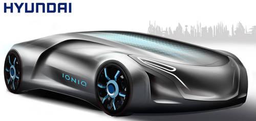 Hyundai Ioniq 2032 Concept Design Render by toyonda
