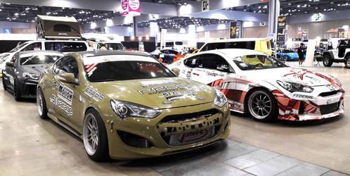 The Super Korean Drifters by toyonda