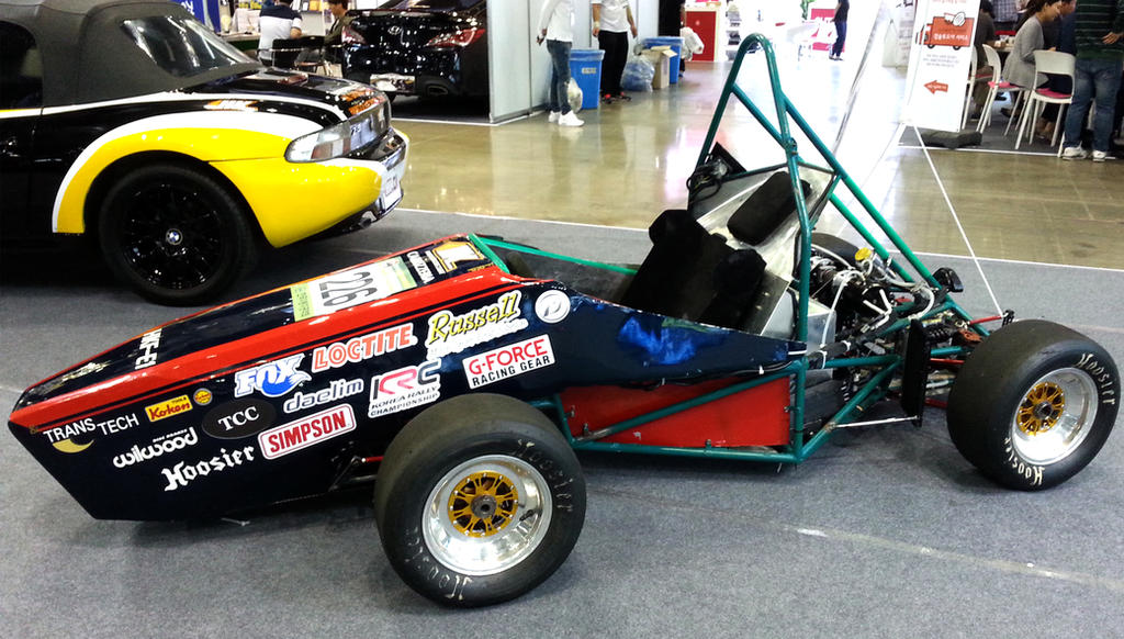 Hankook Automotive College Hand Built Racing Car by toyonda