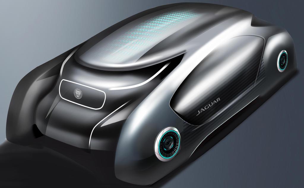 Jaguar Autonomous Luxury CUV Concept Design by toyonda
