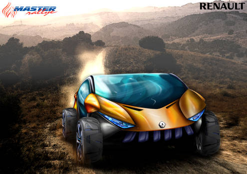 Renault Offroad Electic CUV Concept Render