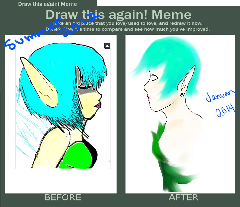 Draw This Again Meme by Kandi-2