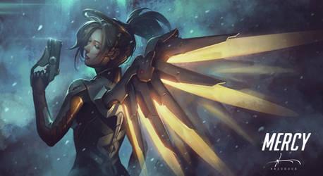 Mercy - Overwatch Fanart