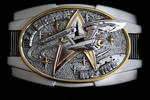 Star Trek Belt Buckle by marshrr
