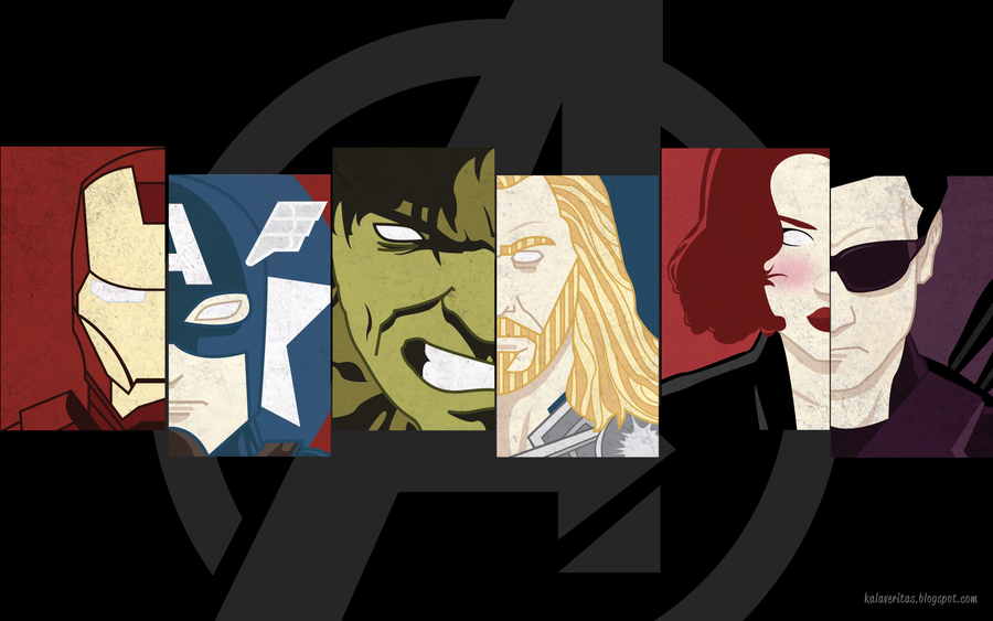 The Avengers wallpaper by ViciousJulious