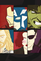 The Avengers Iphone paper by ViciousJulious