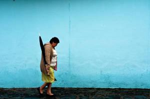 Blue walk by SantiBilly