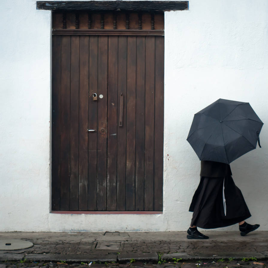The secret nun by SantiBilly