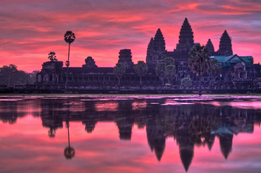 Angkor Wat by SantiBilly