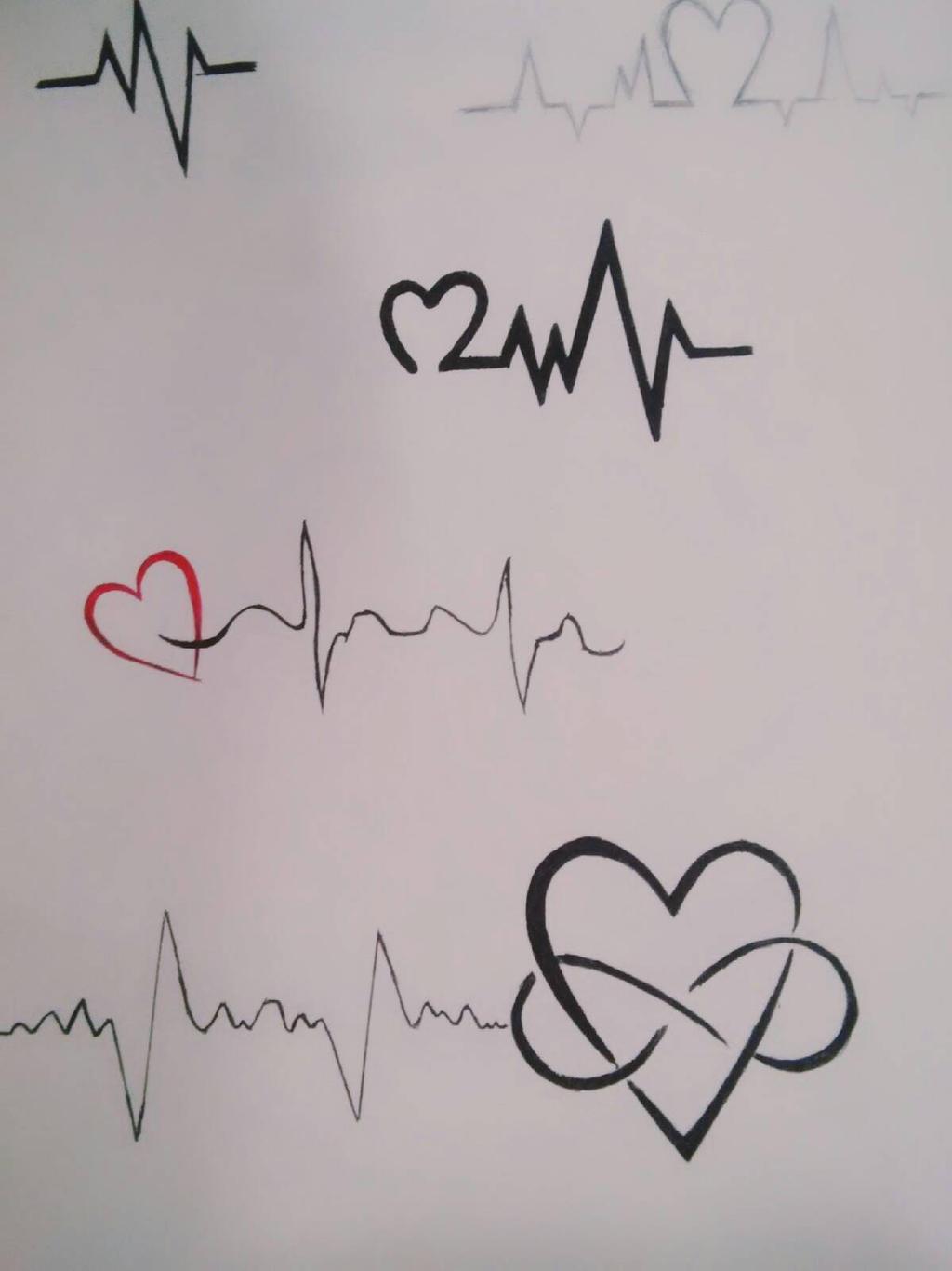 Heartbeat Tattoo By Dmg52598 On Deviantart