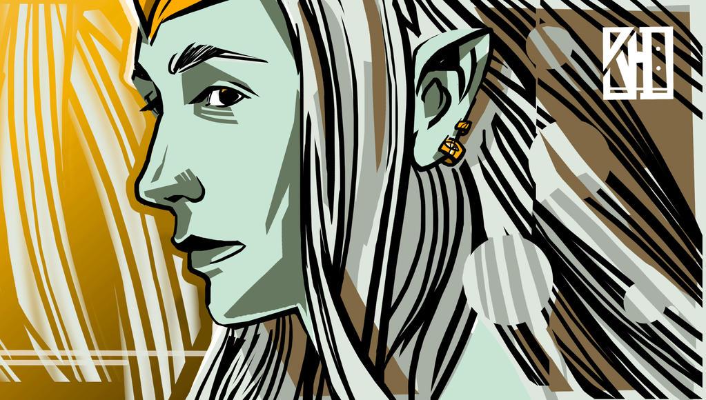 ' Galadriel ' by kamenecka-art