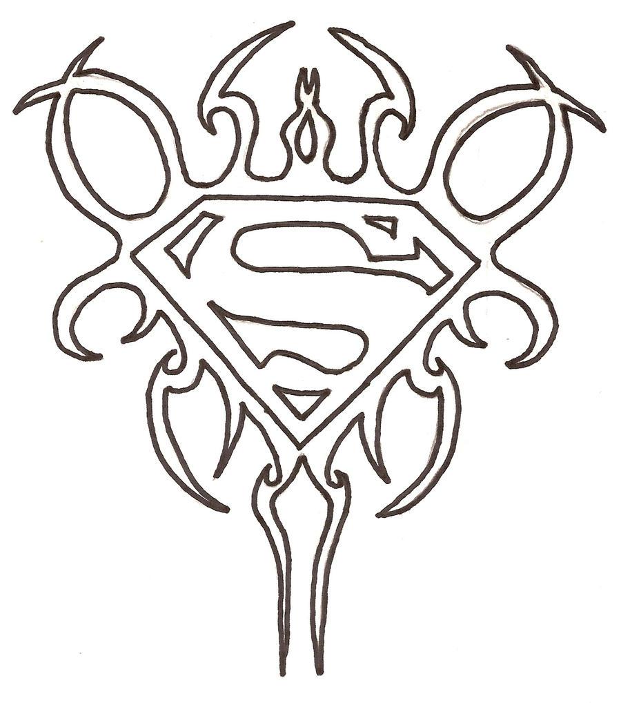Superman Tribal By JSCimmortal On DeviantArt