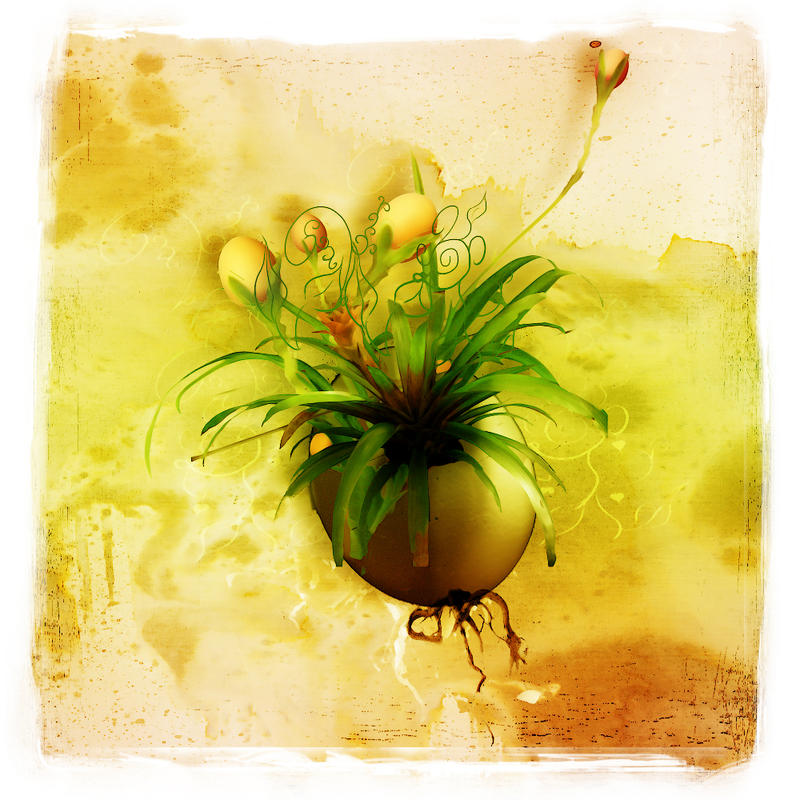 Eggplant by InertiaK