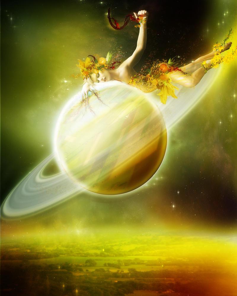 Saturn By InertiaRose On DeviantArt