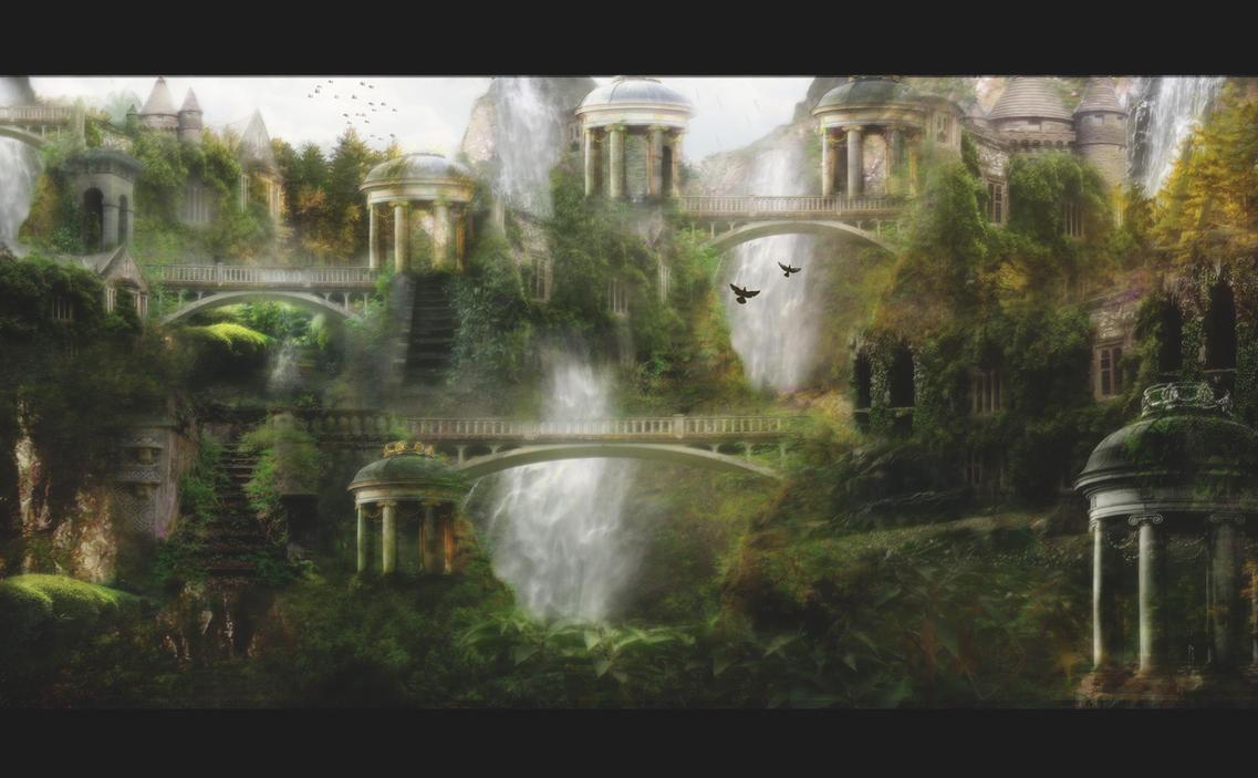 Where Elven Folk Dwell by InertiaK