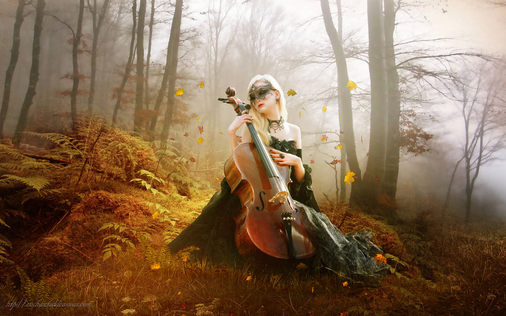 Fall Melody Wallpaper by InertiaRose
