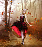 Autumn Waltz by InertiaRose