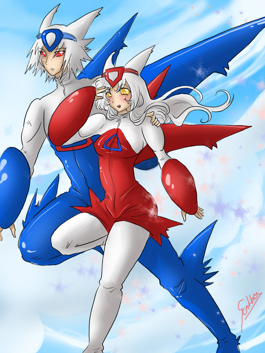 latios and latias by Sparkly-Monster on DeviantArt