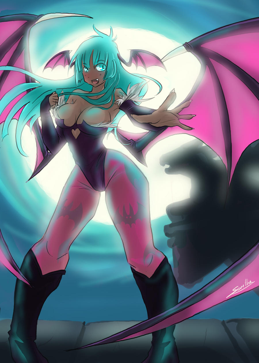 morrigan by Sparkly-Monster