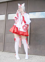 Amaterasu cosplay by Sparkly-Monster