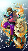 Soritha pokemon trainer by Sparkly-Monster